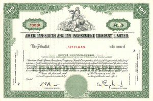 American-South African Investment Company, Limited