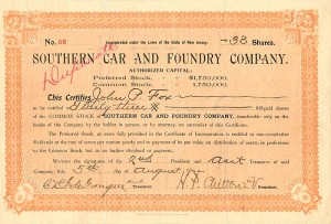 Southern Car and Foundry Company