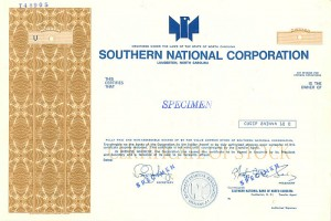 Southern National Corporation