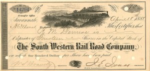 South Western Rail Road Company