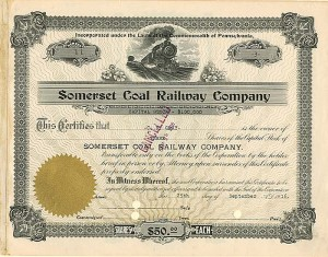 Somerset Coal Railway Company