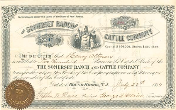 Somerset Ranch and Cattle Company