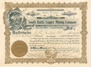 South Butte Copper Mining Company
