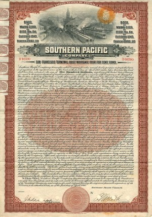 Southern Pacific Company - SOLD