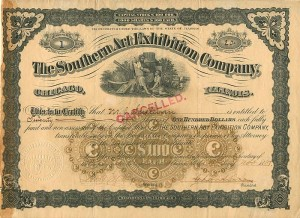 Southern Art Exhibition Company - Serial #1