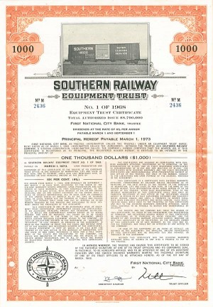 Southern Railway Equipment Trust