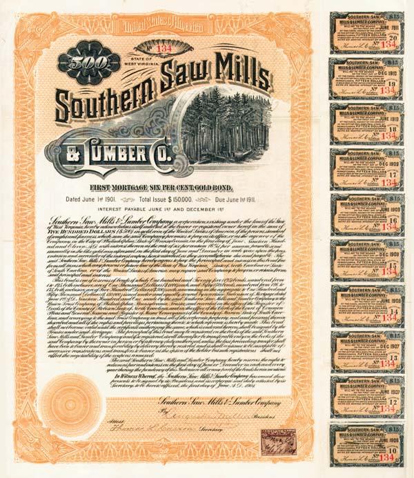 Southern Saw Mills & Lumber Company