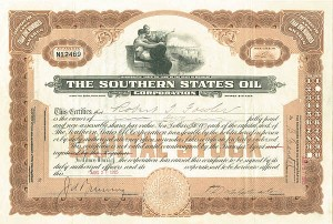 Southern States Oil Corp