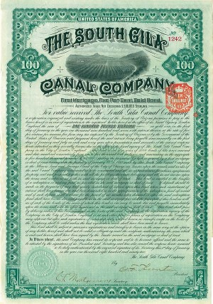 South Gila Canal Company - SOLD