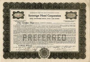 Sovereign Hotel Corporation