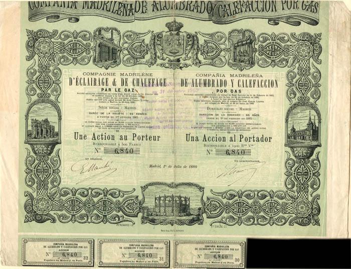 Compania Madrilena De Alumbrado Y Calefaccion