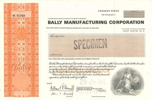 Bally Manufacturing Corporation - SOLD