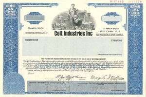 Colt Industries Inc. - SOLD