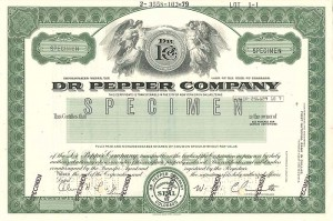 Dr. Pepper Company - SOLD