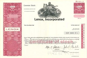 Lenox, Incorporated