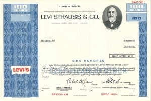 Levi Strauss & Co. - SOLD