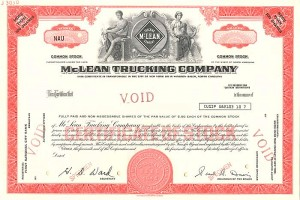 McLean Trucking Company - SOLD