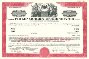 Philip Morris Incorporated - SOLD