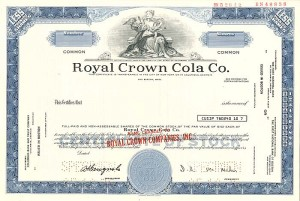 Royal Crown Cola Co. SOLD