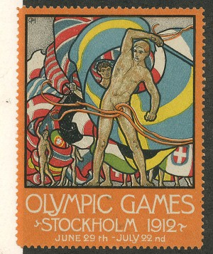 Olympic Games Postage Stamp