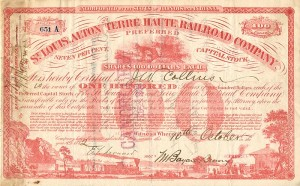 St. Louis, Alton and Terre Haute Railroad Company - SOLD