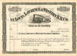 St. Louis, Lawrence & Western R.R. Co.