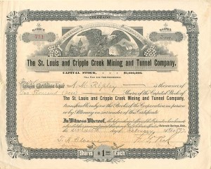 St. Louis and Cripple Creek Mining and Tunnel Company
