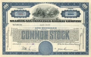 Chicago Saint Paul Minneapolis /& Omaha Railway Stock Certificate