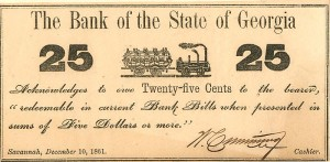 Bank of the State of Georgia - SOLD