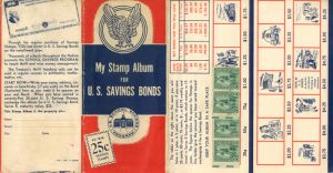 My Stamp Album for U.S. Savings Bonds