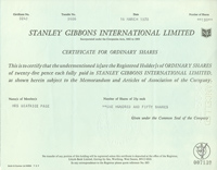 Stanley Gibbons International Limited