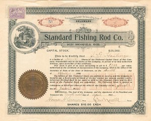 Standard Fishing Rod Co. - SOLD