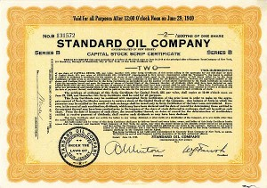 Standard Oil Company - SOLD