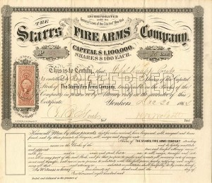 Starrs Fire Arms Company - SOLD