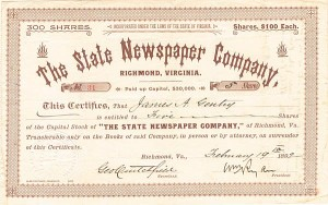 State Newspaper Company