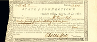 State of Connecticut - signed by Peter Colt