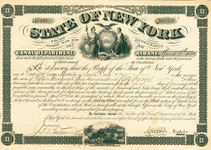 State of New York, Canal Department