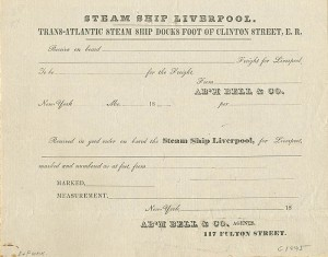 Steam Ship Liverpool