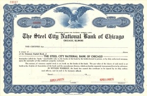 Steel City National Bank of Chicago