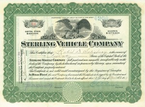 Sterling Vehicle Company