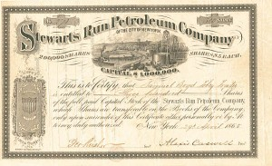 Stewarts Run Petroleum Company of the City of New York