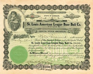 St. Louis American League Base Ball Co.