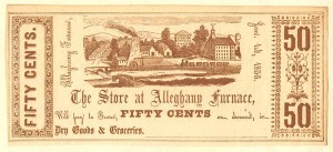 Store at Alleghany Furnace - SOLD