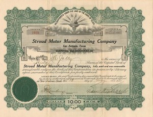 Stroud Motor Manufacturing Company