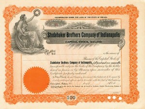 Studebaker Brothers Company of Indianapolis