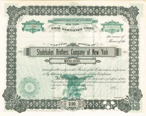 Studebaker Brothers Company of New York
