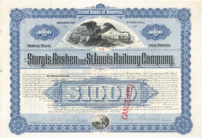 Sturgis, Goshen and St. Louis Railway Company