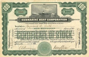 Submarine Boat Corporation - SOLD