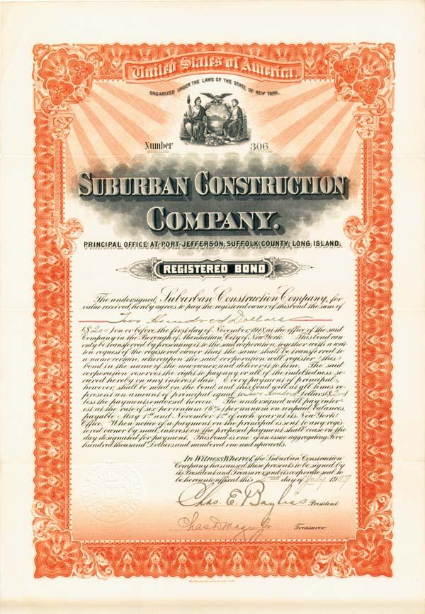 Suburban Construction Company