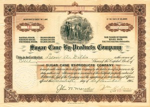 Sugar Cane By-Products Company - SOLD